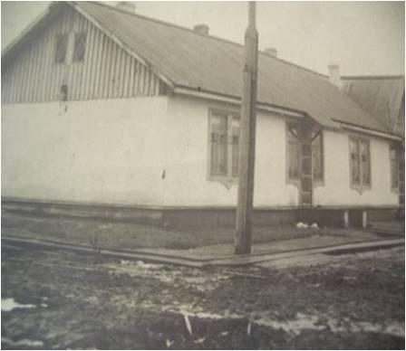 Первые здания интернатов